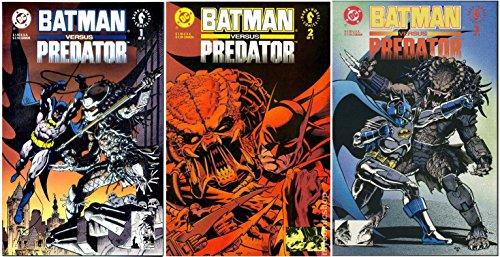 Bat man vs Predator #1-3 Complete Limited Series