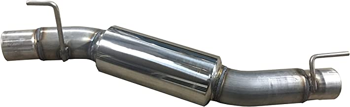 991905SL Performance Muffler Replacement for Ram 2500-3500 6.4L Hemi Made in the USA By Solo Performance Compatible with Dodge and Ram 2500 3500 Pickup trucks with 6.4L Engine