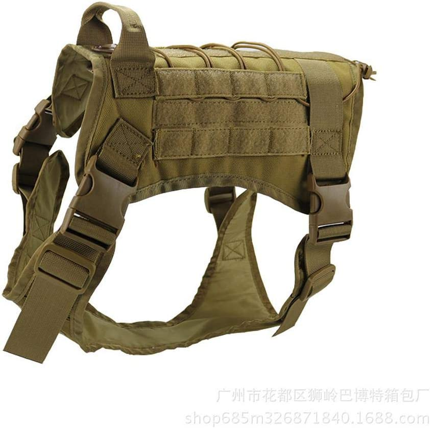 JKAINI Tactical Dog Training Vest Molle San Jose Mall Equipme Discount mail order Harness