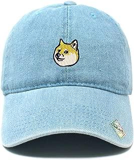Doge Dad Hat Cotton Baseball Cap Beanie Polo Style Low Profile Ski hat