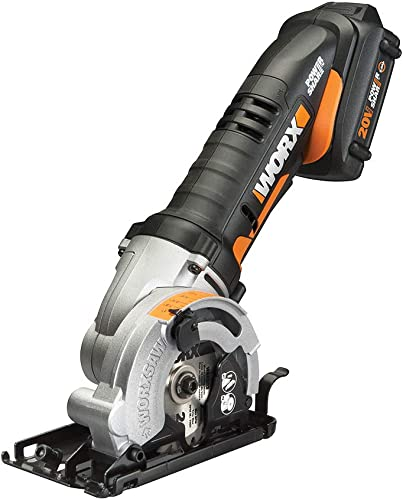 """2021 Worx new arrival WX523 20V Power Share WORXSAW 3-3/8"""" Cordless Compact Circular sale Saw online sale"""