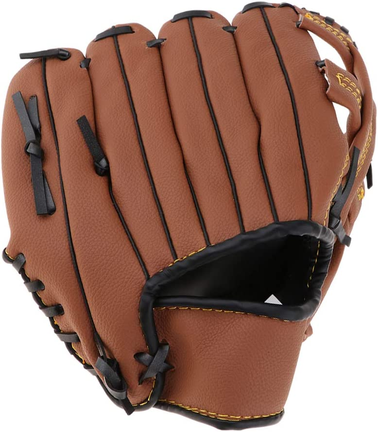 Spring new work one after another Baosity Baseball Gloves online shopping Soft Solid Pitcher Leather PU Thickening