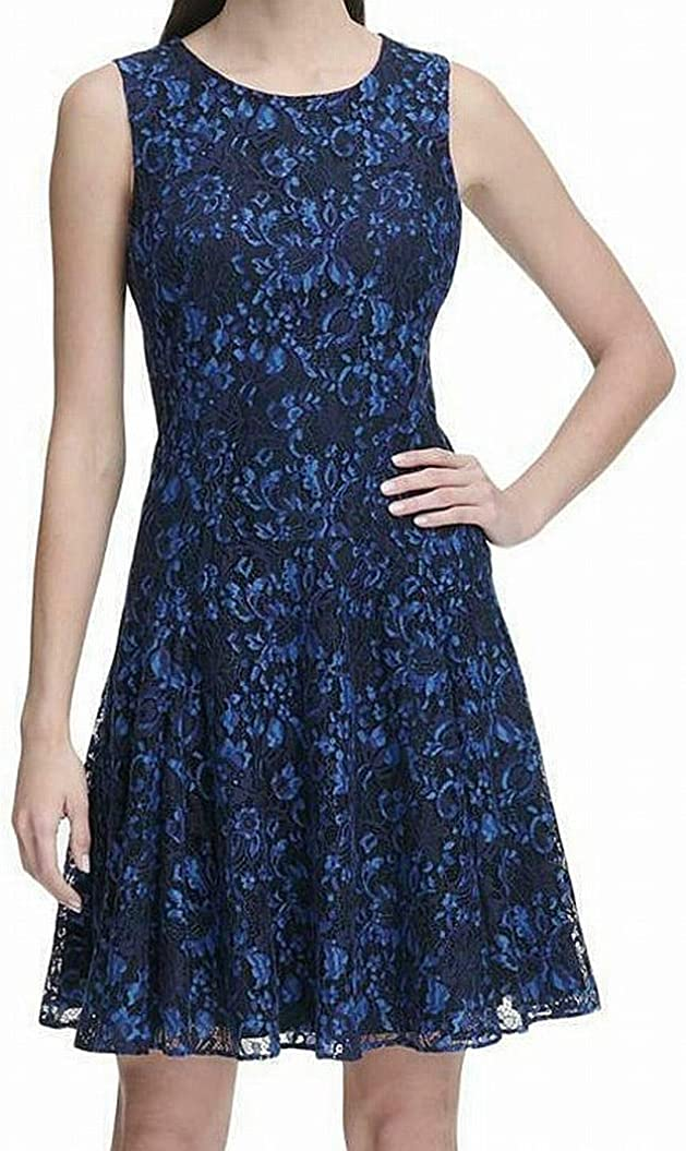 Tommy Hilfiger Women's Sleeveless and Max 57% OFF Our shop most popular Flare Fit Dress