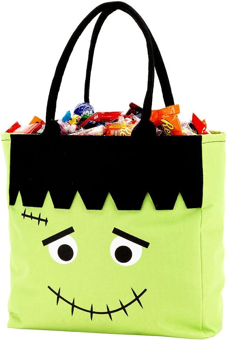 Funny Halloween --61071-BAG3-603 Custom Halloween Bag,Treat bag,Goodie Bag,Custom Halloween Tote Loot Bag Skeleton Trick or Treat Bag