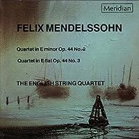 Mendelssohn: Quartet in Em