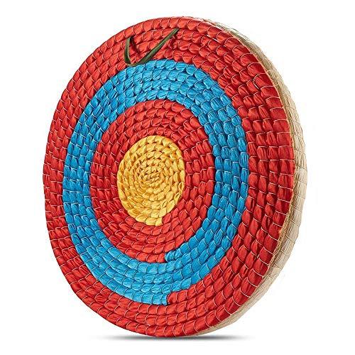 Kjzeex - Obiettivo tradizionale per tiro ad arco, 50 x 50 cm, 2 strati