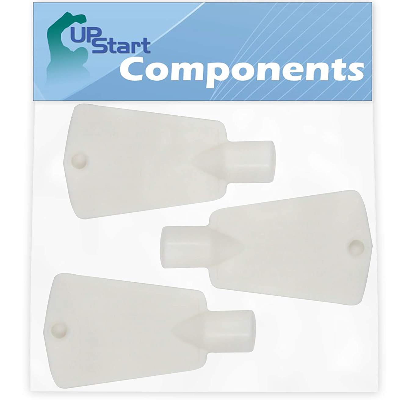 3-Pack 297147700 Freezer Door Key Replacement for Kenmore/Sears 25326062103 Freezer - Compatible with 297147700 Lock Key - UpStart Components Brand