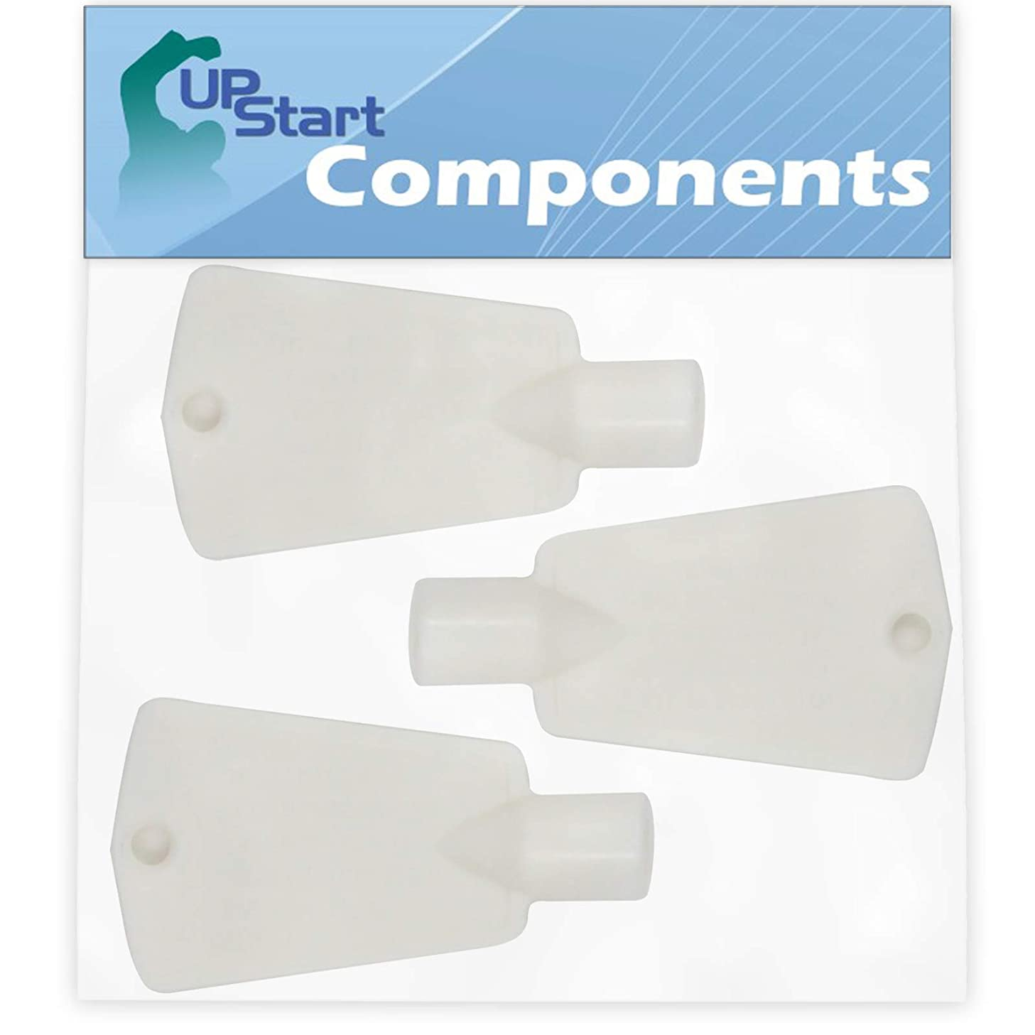3-Pack 297147700 Freezer Door Key Replacement for Kenmore/Sears 25313911102 Freezer - Compatible with 297147700 Lock Key - UpStart Components Brand