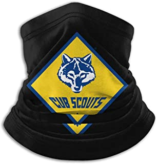 Cub Scouting (Boy Scouts of America) Unisex Fleece Neck Warmer Neck Gaiters Warm Novelty Bandana Face Mask Neck Scarf