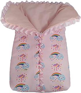Saco de dormir para bebê com zíper porta neném menina