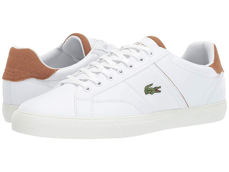 Lacoste Fairlead 119 1 CMA (White/Light Brown) Men