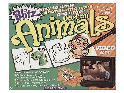 Blitz Kits de video 'Cómo dibujar animales de dibujos animados'