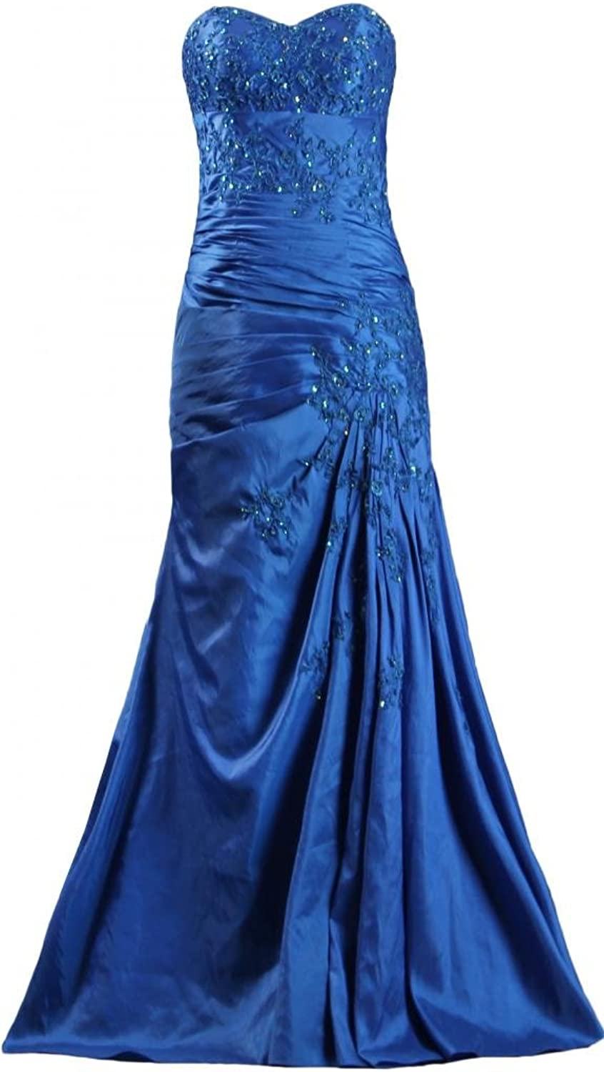 ANTS Women's Sweetheart Mother of The Bride Dresses Aline Evening Gowns