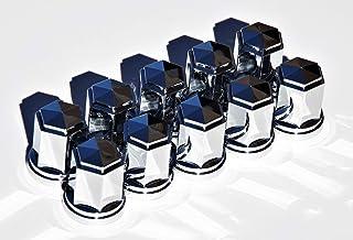 ナットカバー 6角 クロームメッキ 10ヶ入 ISO 33mm高さ60mm ナットキャップ500397