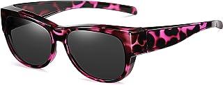 De gran tamaño se adapta a las gafas de sol Lente polarizada espejada para mujeres y hombres