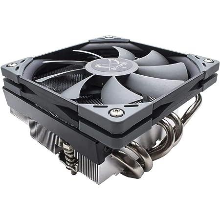 Scythe Big Shuriken 3 CPU Air Cooler, 120mm Low Profile(69mm Tall), Intel LGA1151, AMD AM4/Ryzen