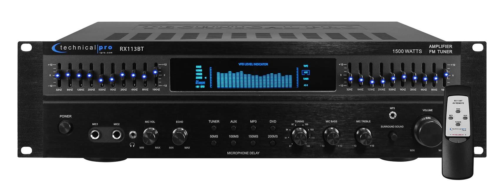 Technical Pro RX113BT Bluetooth Amplifier