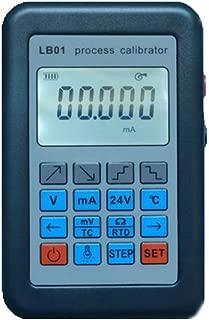 TOPCHANCES LB01 Multifunction Versatile Resistance Current Voltmeter Signal Generator Source Calibrator Resistance Current Voltmeter Signal Generator Source Process Calibrator 4-20mA/0-10V/mV LCD disp