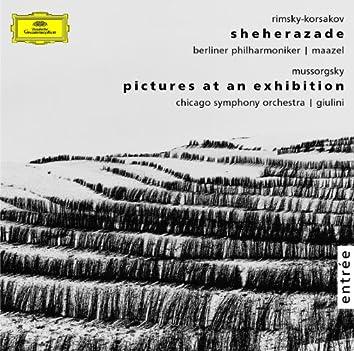 リムスキー=コルサコフ:交響組曲《シェエラザード》作品35 / ムソルグスキー:組曲《展覧会の絵》(ラヴェル編)