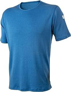 100% Merino Wool Men's T-Shirt Machine Washable. Made in Norway