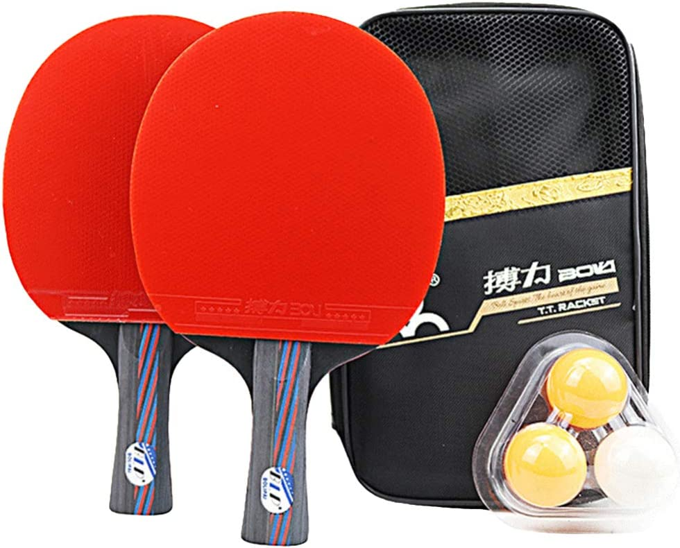 Wakauto Ping Pong Paddle Table Tennis Set Premium Miami Mall of - Pack Super beauty product restock quality top! 2