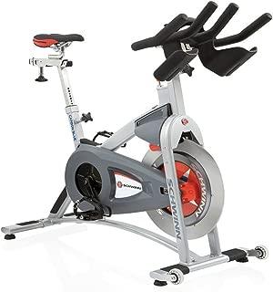 Schwinn A.C. Sport Indoor Cycle Bike with Carbon Blue Belt Drive