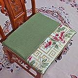 xinping Chair Pads Coussin de Chaise Canapé Tapis de siège, a, 40x46cm(16x18inch)