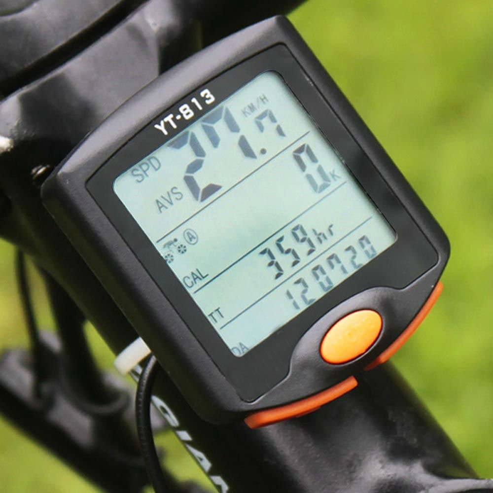 Bike Computer OFFicial mail order Wireless Bicycle Cyclin Odometer Choice Speedometer
