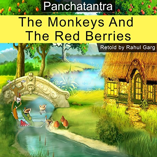The Monkeys and the Red Berries audiobook cover art