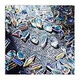WDDLU Misto Nail Art Decor Accessori Diamante Resina per Gioielli per Unghie Strass Piatto Posteriore Cristallo 3D Nail Decorazione Strass per Unghie Gemme per Cristallo (120 Pezzi/Pacco)