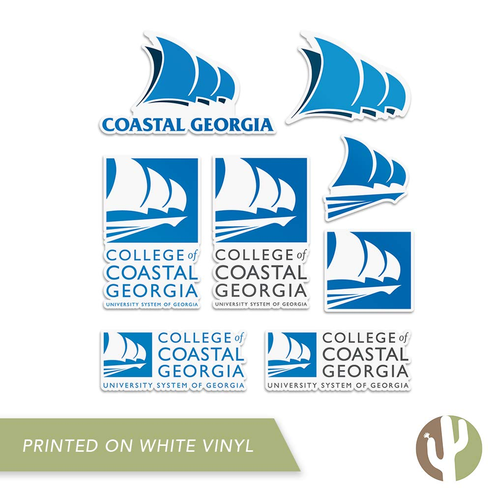 Desert Cactus College of Coastal Georgia Mariners NCAA 100/% Polyester Indoor Outdoor 3 feet x 5 feet Flag