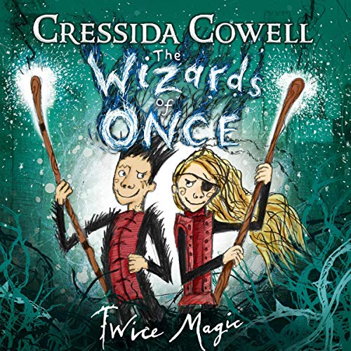 The Wizards of Once: Twice Magic                   By:                                                                                                                                 Cressida Cowell                               Narrated by:                                                                                                                                 David Tennant                      Length: 5 hrs and 36 mins     28 ratings     Overall 4.9
