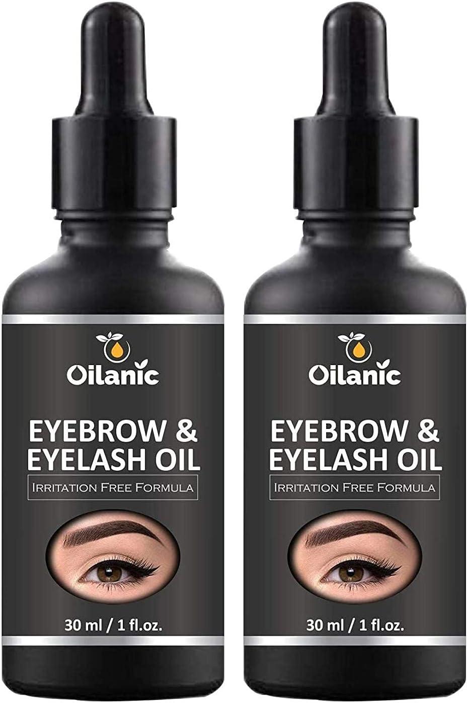 Dayna Oilanic 100% Pure Natural Eyebrow Pa Max 51% San Antonio Mall OFF Combo Eyelash Oil
