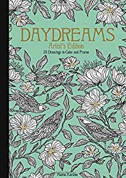 Dagdrömmar Daydreams artist edition coloring book hanna karlzon
