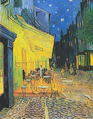LYWUSUZE Puzzle 1000 Teile Erwachsene Holzpuzzle Für Van Goghs Nachtcafé Kinder Pädagogisches Spielzeug Moderne Zuhause Dekoration Einzigartiges Geschenk