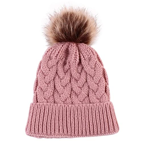 c4af8e12ce0 Yinuoday Baby Knit Hat Cap Winter Warm Wool Infant Toddler Kids Crochet  Beanie Cap New