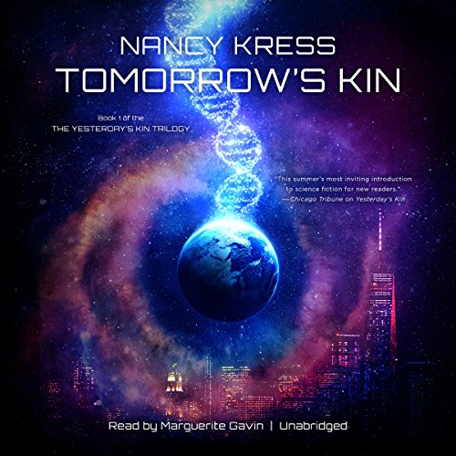 Tomorrow's Kin audiobook cover art