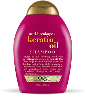 OGX Anti-Breakage + Keratin Oil Shampoo, 13 Ounce