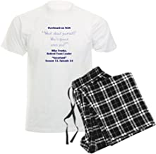 CafePress - WHO is Gonna Save You? Pajamas - Unisex Novelty Cotton Pajama Set, Comfortable PJ Sleepwear