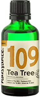 Naissance Aceite Esencial de Árbol de Té BIO n. º 109 – 50ml - 100% Puro vegano certificado ecológico y no OGM
