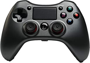 $49 » PS4 Controller Wireless, PS4 Remote Gamepad with Touchpad for PS4 PS3 PC Android,Black