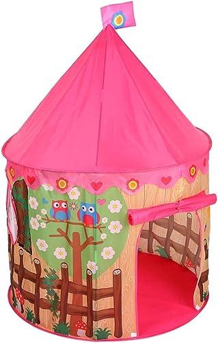 Xasclnis Tente de Jeu portable Pliable de la Tente des Enfants pour Enfants Playhouse extérieure en Plein air pour Enfants (Couleur   rose)