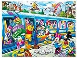 qfafz DIY 5D Diamond Painting Mickey Cartoon Princess Set De Punto De Cruz Hace Bordado 40X50Cm