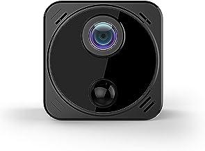 Mini Spy Camera Wireless Hidden Camera with Audio Live Feed Wifi, Tiny Spy Nanny Cam with 4k Full HD Night Vision/Motion D...