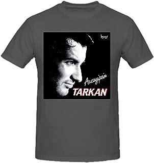 Tarkan Aacayipsin Graphic T Shirts For Men Crew Neck