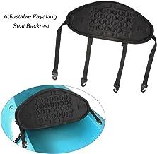 Lixada ?1pc Adjustable Kayaking Canoeing Sit On Top Kayak Seat Back Rest Seat Backrest Support Back Pad Band Antiskid Cushiony Black