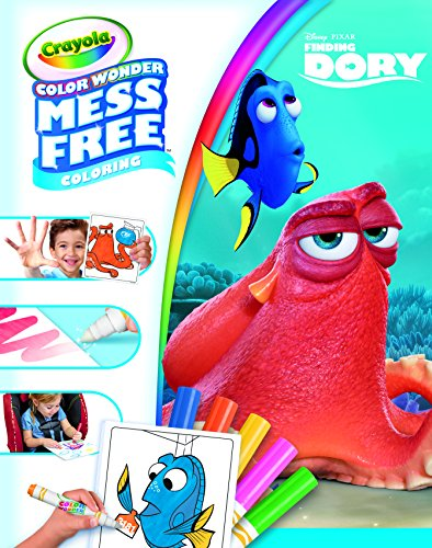 Crayola Color Wonder Mess-Free Disney Finding Dory Coloring Book - Color Wonder Markers Included