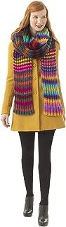 Lion Brand Yarn Lion Brand 600-561 Luna Vesta Super Scarf Knit Kit