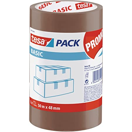 PROMO Precinto tesa BASIC PP, marrón (torre de 3u. x 50:48)