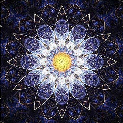 Ansichtkaarten diamant borduurwerk mandala-patronen knutselen 5D diamant borden steentjes mozaïek decoratief 50x70cm